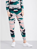 Chinti and Parker Camouflage wool and cashmere-blend trousers