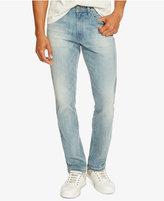 Kenneth Cole Reaction Men's Slim-Fit Light Indigo Faded Jeans