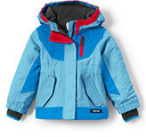 Lands' End Toddler Girls Squall Jacket-Mulberry Wine
