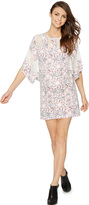A Pea in the Pod Bcbg Max Azria Lace Floral Maternity Dress