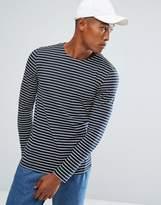 Minimum Striped Long Sleeve T-Shirt