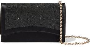 Emilio Pucci Colibri Embellished Satin Shoulder Bag