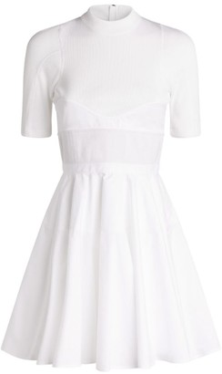Alexander Wang Fit-And-Flare Mini Dress