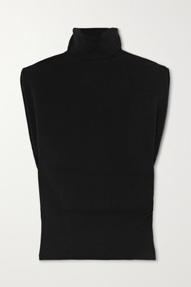 3.1 Phillip Lim Wool-blend Turtleneck Sweater - Black