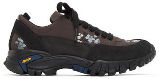 Cecilie Bahnsen Brown Diemme Edition Floral Max Sneakers