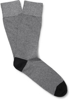 Corgi - Two-tone Cotton-blend Socks