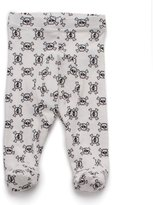 Nununu Infant Skull Leggings Footie