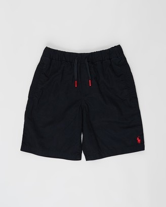 Polo Ralph Lauren Pull-On Parachute Twill Shorts - Teens