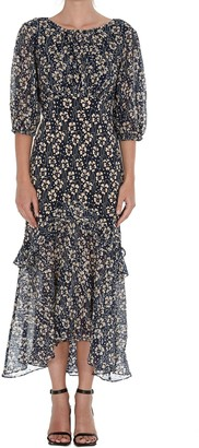 Rixo Cheryl Asymmetric Dress