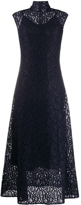 HUGO BOSS Lace Midi Dress