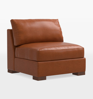 Rejuvenation Wrenton Studio Leather Sectional Armless Chair