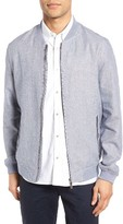 Ted Baker Men's Rollin Linen Blend Bomber Jacket