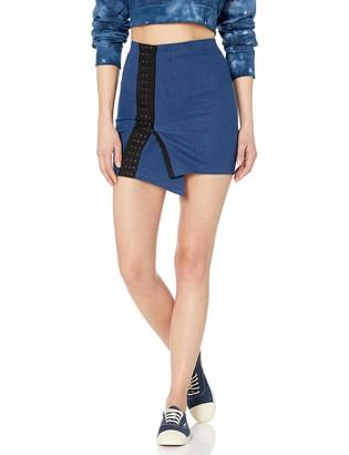CG JEANS Cute Ruffle Ripped Short Pencil Denim Jeans Women