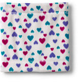 Classic Kids Printed ThermaCheck®-200 Gaiter-Ivory Multi Hearts
