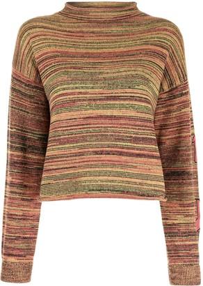 The Upside Nitara marl-knit jumper