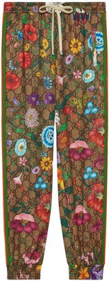 Gucci GG Flora print track bottoms