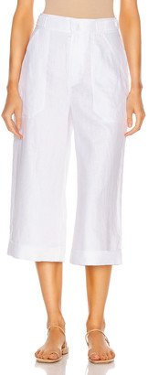 Equipment Kalil Linen Pant in Bright White | FWRD