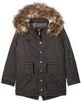 Pepe Jeans Girl's Pg400619 Coat,(Manufacturer Size: Medium)