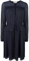 MICHAEL Michael Kors small pattern longsleeved dress