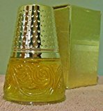 """Avon Golden Thimble Vintage Figural Decanter """"Charisma"""" Cologne 2oz"""