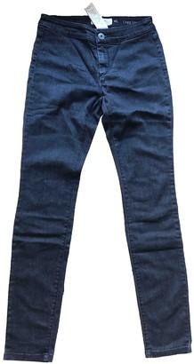 Max Mara Weekend Grey Cotton - elasthane Jeans for Women