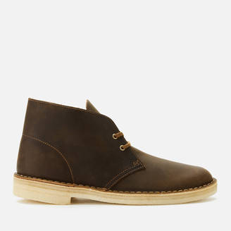 Clarks Men's Leather Desert Boots - Beeswax
