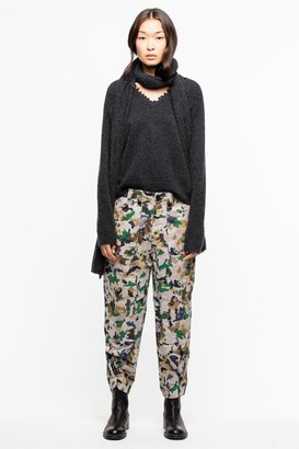 Zadig & Voltaire Pia Camou Pants