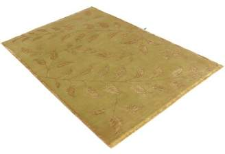 Schiff Canora Grey One-of-a-Kind Hand-Woven Gold Area Rug Canora Grey