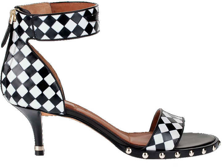 Givenchy Weave printed leather sandal