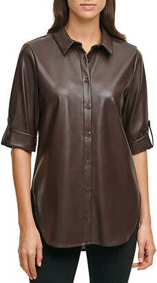 Calvin Klein Women's Tunics   Shop the world's largest collection of fashion    ShopStyle