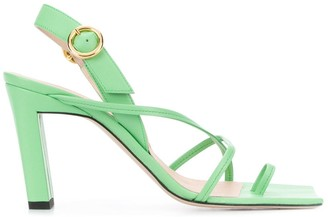 Wandler Elza strappy block heel sandals