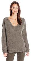 Three Dots Women's Desiree Fuzzy Sweater Knit