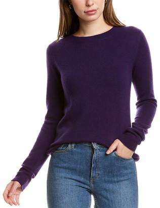 InCashmere Basic Crewneck Cashmere Sweater