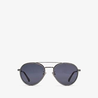 Jimmy Choo Cal/S (Ruthenium) Fashion Sunglasses