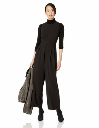 Kensie Women's Ruffle Back Jumpsuit