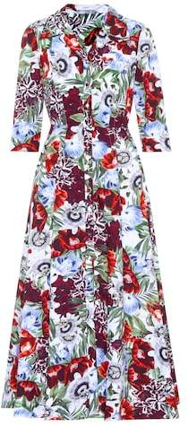 Erdem Kasia floral-printed cotton dress