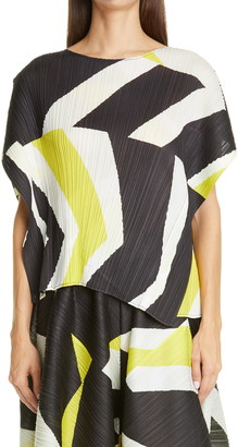 Pleats Please Issey Miyake Motion Pleated Top