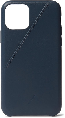 Native Union Clic Card Leather Iphone 11 Pro Case