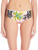 Nanette Lepore Women's Copa Cubana Doll Full-Coverage Hipster Bikini Bottom