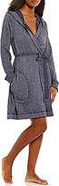 Josie French Terry Hooded Wrap Robe
