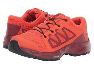 Salomon XA Elevate (Little Kid/Big Kid) (Cherry Tomato/Red Dahlia/Black) Kids Shoes
