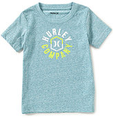 Hurley Little Boys 4-7 Walled Art Short-Sleeve Graphic Tee