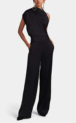 Osman Women's Backless Wool Jumpsuit - Black