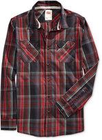 Levi's Men's Long-Sleeve Marled Plaid Work Shirt