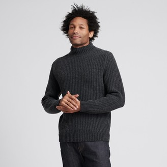 Naadam Wool Cashmere Ribbed Turtleneck