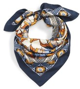 Tory Burch Women's Tiger Lily Silk Square Scarf
