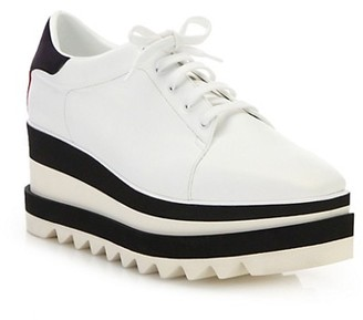 Stella McCartney Sneak-Elyse Platform Wedge Sneakers