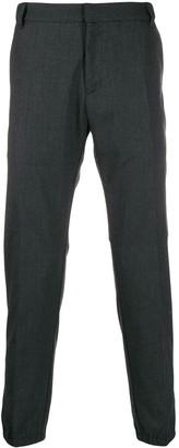 Emporio Armani Elasticated Hem Trousers