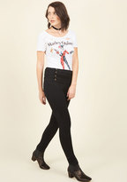 ModCloth Set Sailorette Jeans in Black in 3