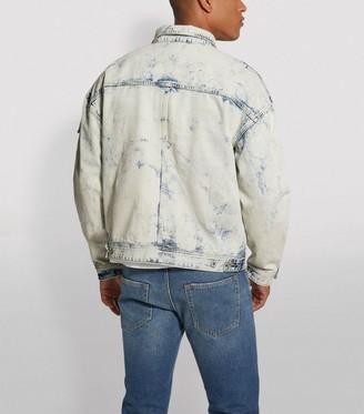 Moose Knuckles Bleached Denim Jacket